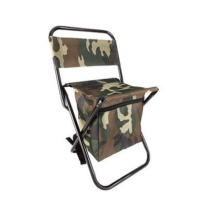 Camo Backpack Folding Stool