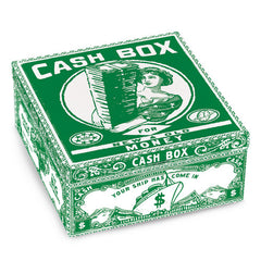 Tin Petite Cigar Box (Cash Box)