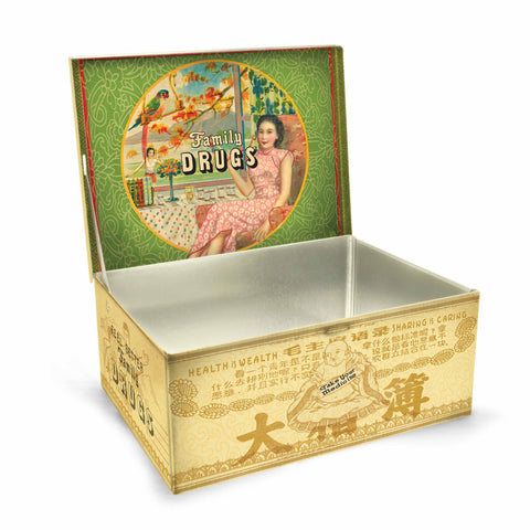 Tin Cigar Box (Family Drugs)