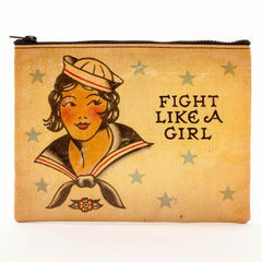 Zipper Pouch (Fight Like A Girl)