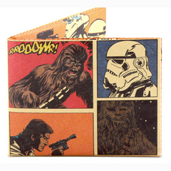 mighty wallets® (HAN SOLO AND CHEWBACCA COMIC PANELS)