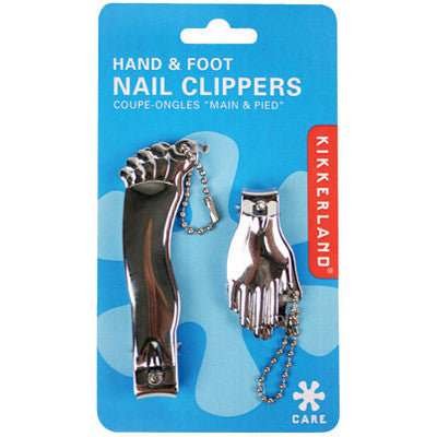 Hand and Foot Nail Clipper Combo