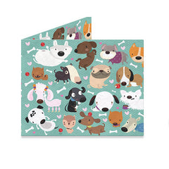 mighty wallets® Happy Dogs