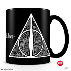 Harry Potter The Deathly Hallows Heat Change Mug