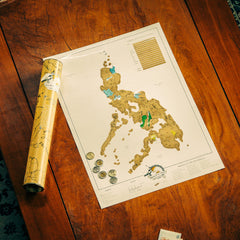 Scratch Map Philippines Edition