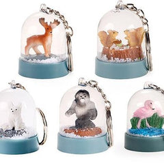Nature Snow Globe Keychain