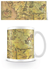 The Lord of the Rings Middle Earth Coffee Mug