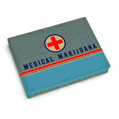 Tin Pocket Box (Medical Marijuana)