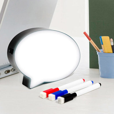 Memo Board Bubble with Light