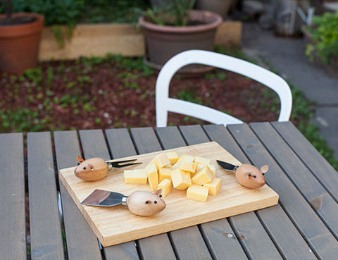 Mouse Cheese Knives