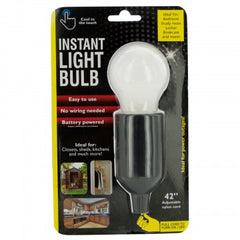 Instant LED Light Bulb with Pull Cord