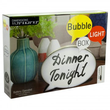 Bubble Light Box with Markers
