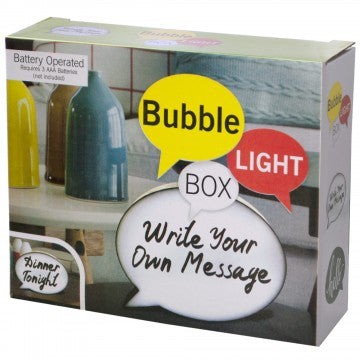 Mini Bubble Light Box