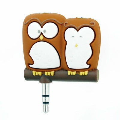 Headphone Splitter (Owl)