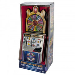 Wheel of Fortune Slot Machine Coin Bank