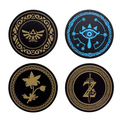 The Legend of Zelda Metal Coasters