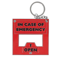Emergency Bottle Opener Key Ring