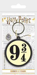 Harry Potter (9 and Three Quarters) Rubber Keychain