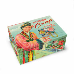 Tin Cigar Box Random Crap