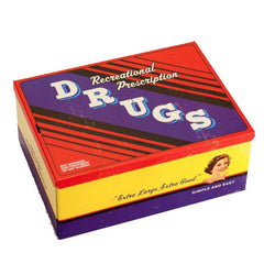 BlueQ Tin Cigar Box (Recreational Drugs)