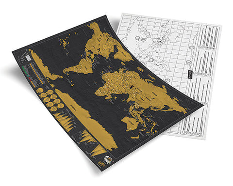 Scratch Map Travel Edition (Deluxe)