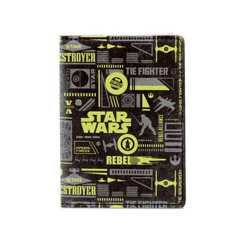 Mighty Passport Case Star Wars Symbols