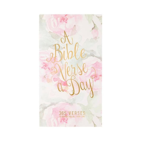 Daily Bible Verse Pad Floral Watercolor