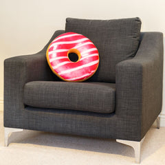 Replicushion Doughnut Pink Stripe