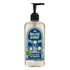 Liquid Hand Soap Wash Away Your Sins