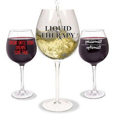 Wine-isms XL Wine Glass