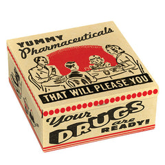 Tin Petite Cigar Box (Yummy Pharmaceuticals)