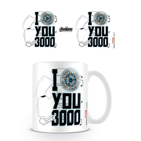 Avengers Endgame I Love You 3000 Mug