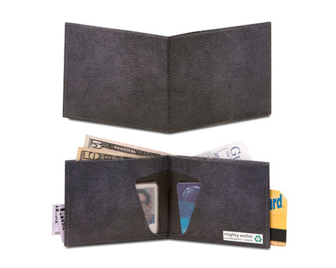 Mighty Wallet (Vintage Black Leather)
