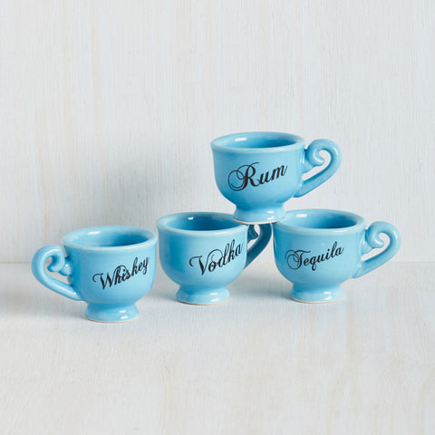Tea Party Shot Glasses