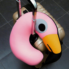 Flamingo Travel Cushion