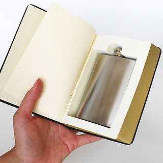 The Good Book (Flask in a Book)