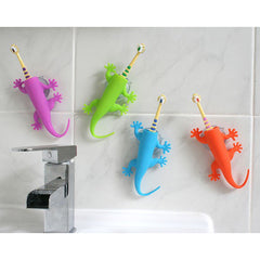 Larry Lizard Toothbrush Holder