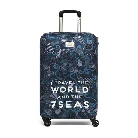 Luggage Covers (I Travel the World)
