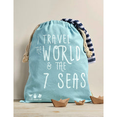 Travel Laundry Bag (I Travel the World & the 7 Seas)