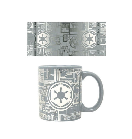Star Wars Death Star Surface Foil Mug