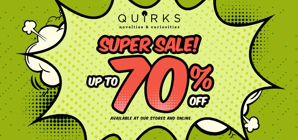 Quirks Novelties And Curiosities | QUIRKS
