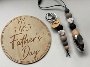 Fathers Day Wooden Disc