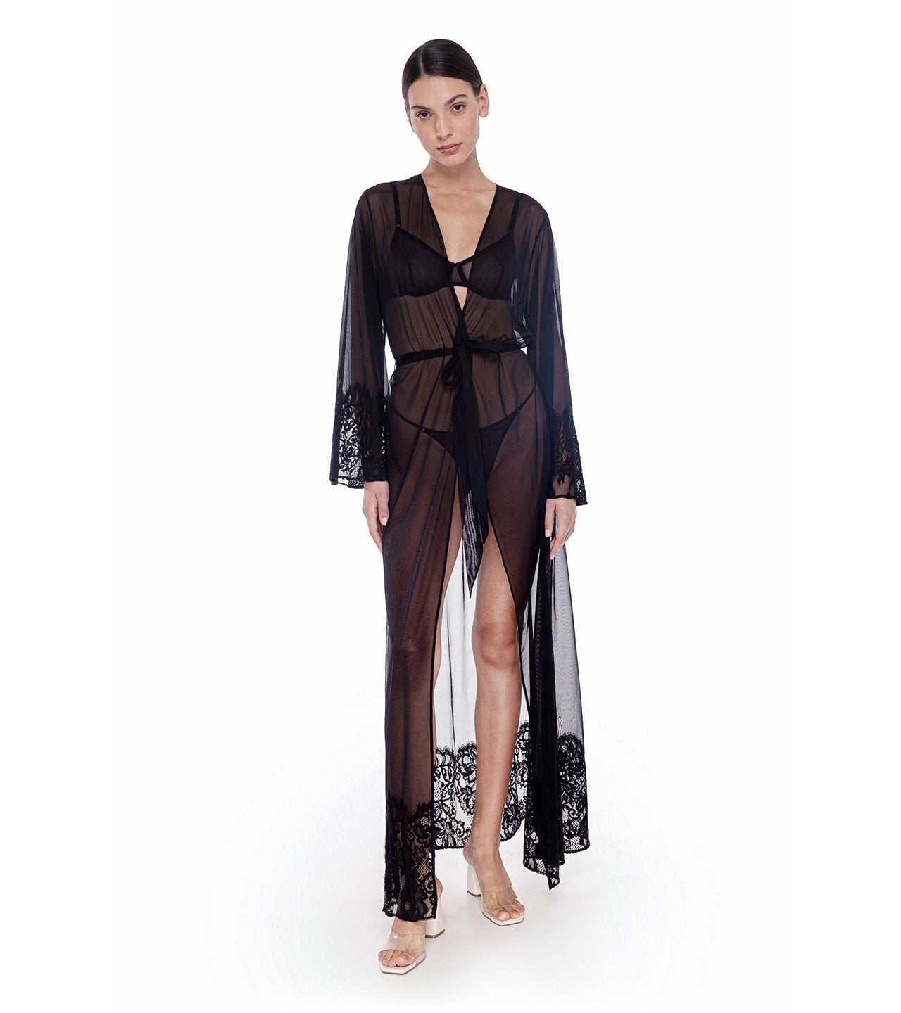 Black Orchid Robe