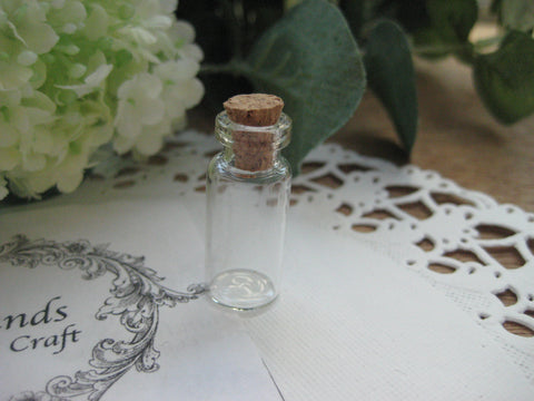 1.4ml Glass Bottle - 12(D)x28(H)mm #122806 --FREE SHIPPING