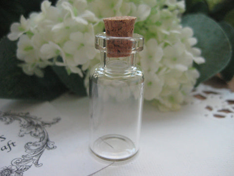 2ml Glass Bottle - 16(D)x35(H)mm #163506 --FREE SHIPPING