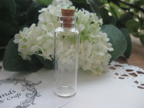 5ml Glass Bottle - 16(D)x50(H)mm #165006 --FREE SHIPPING