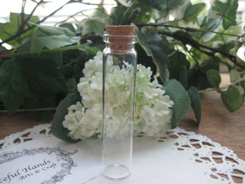 13ml Glass Bottle - 18(D)x80(H)mm #1880125 --FREE SHIPPING