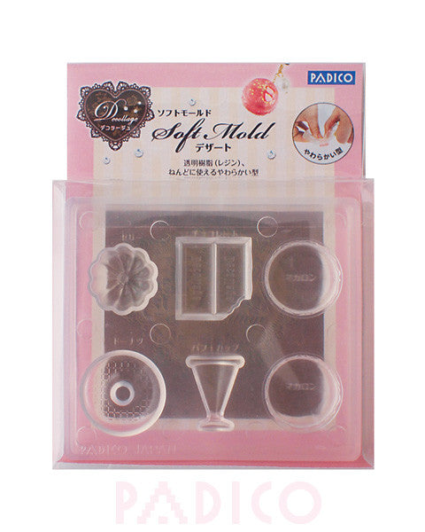 FREE SHIPPING - Padico Soft Clay Mold Dessert (PP)