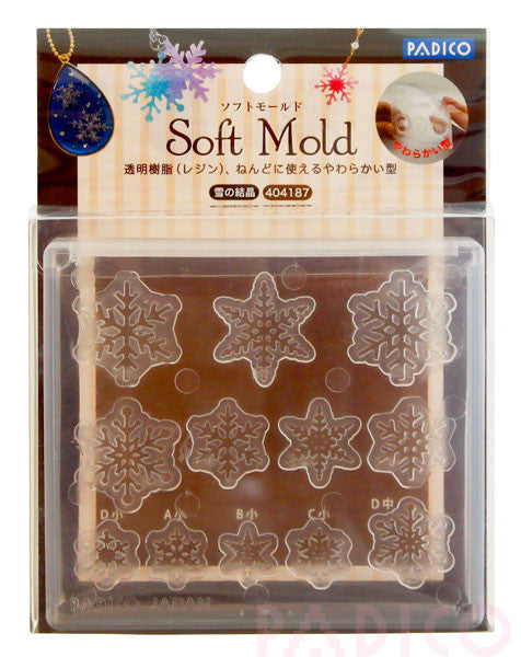 FREE SHIPPING - Padico Soft Mold Snow Crystal