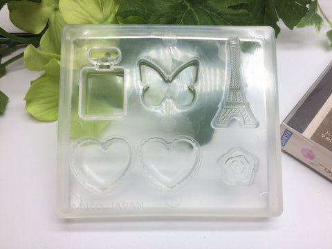 FREE SHIPPING - Padico Soft Clay Mold French Motif (PP)